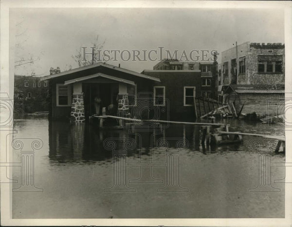 1926 Press Photo Aftermath of Cyclone in Florida - Historic Images