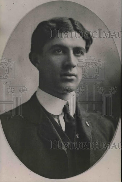 1920 Press Photo William James Cowan missing son of the late WP Cowan - Historic Images
