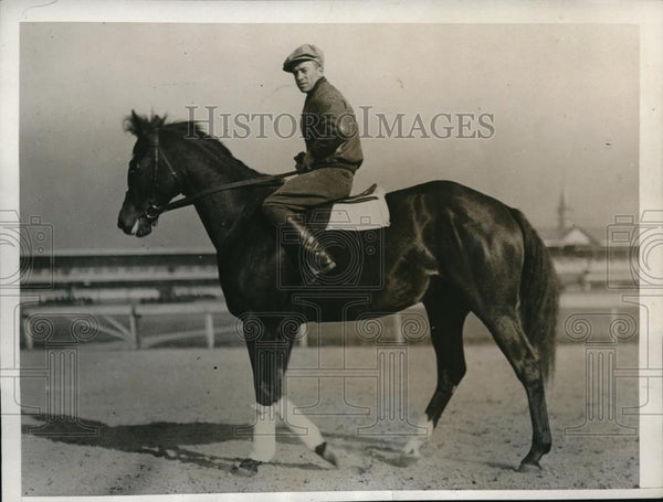 1932 Press Photo I Say candidate for Kentucky Derby at training - nes21507 - Historic Images