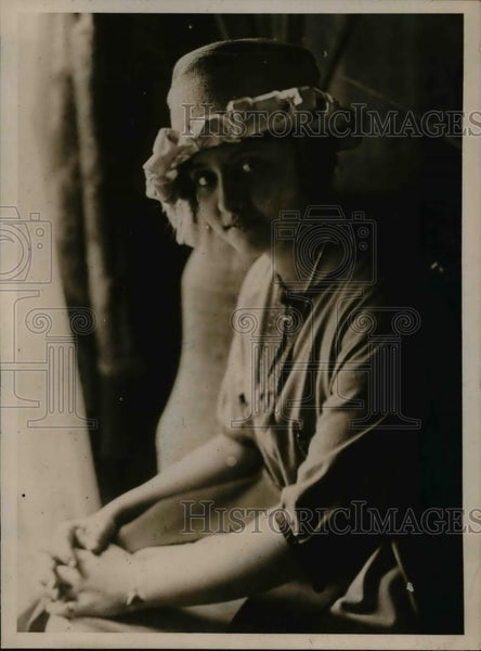 1919 Press Photo Miss Pessoa daughter of Brazilian president - Historic Images
