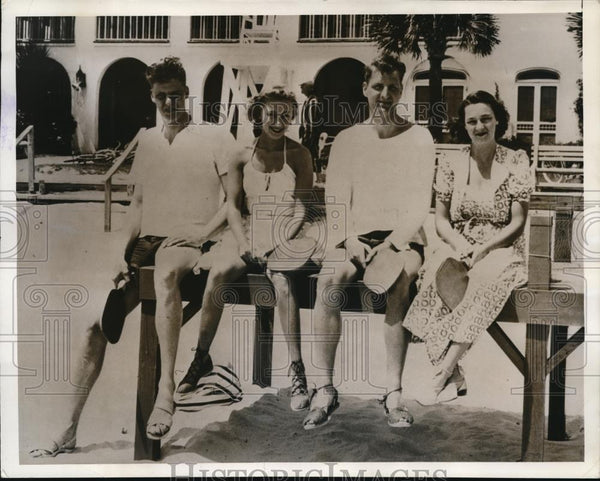 1938 Press Photo Sea Island, GA - Historic Images