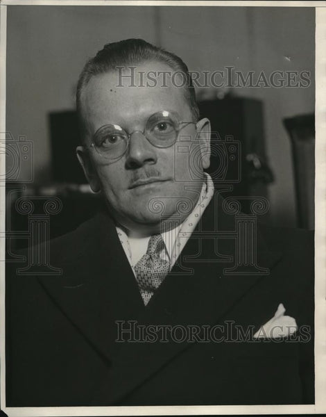 1930 Press Photo C Russel Feldmann President of Automobile Radio Corp - Historic Images