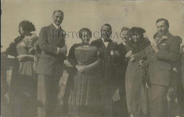 1921 Press Photo Mr McAdoo, Mrs Obegon, Jouett Shouse - Historic Images