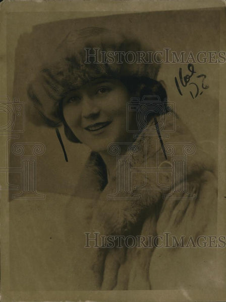 1921 Press Photo Chicago Elaine Ziegler daughter of murdered man - Historic Images