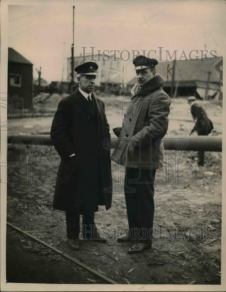 1921 Press Photo William B. Shearer, Navy Designer & Architect Frank K. Lord - Historic Images