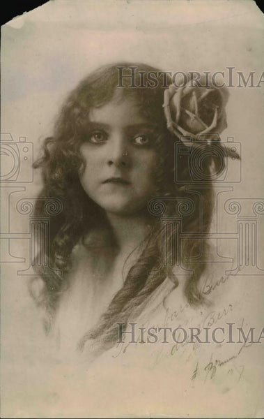 1919 Press Photo Portrait of Audrey Berry - Historic Images