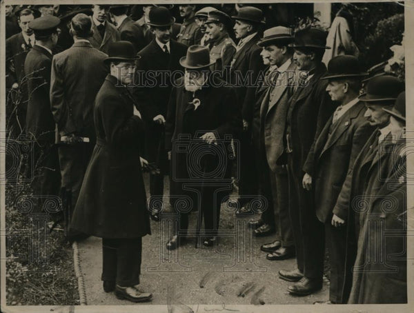 1919 Press Photo Prince of Wales visit the Washington Men's Club - Historic Images