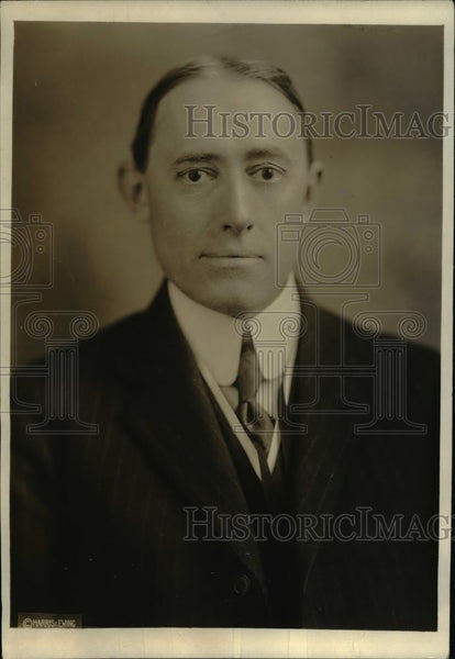1920 Press Photo H.T. Cory, California engineer, third member of the board - Historic Images