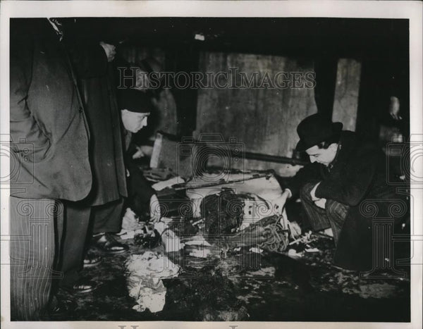 1938 Press Photo Wreckage After Time Bomb Explodes at Gare De Lyon - Historic Images