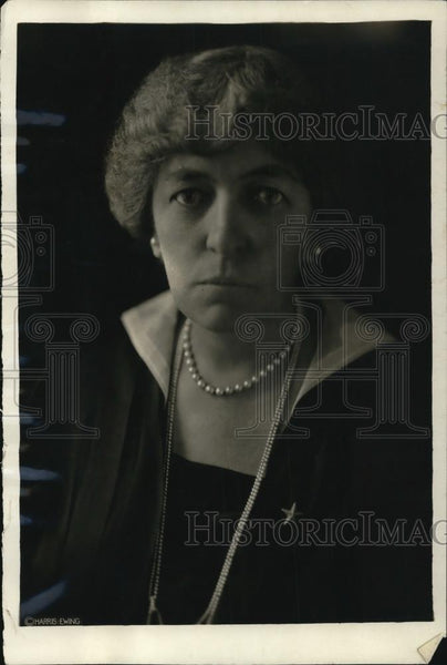 1921 Press Photo Mrs Augustus Gardner, important hostess during arms conference - Historic Images