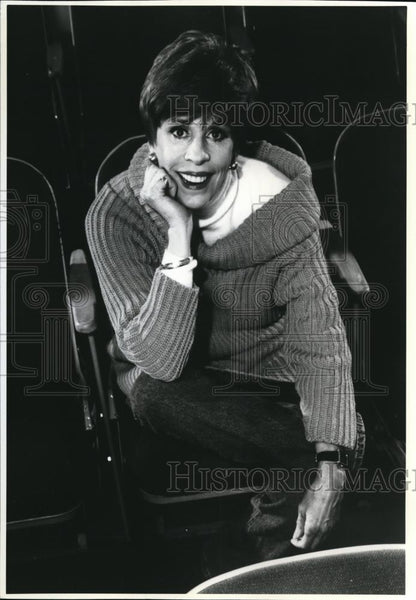 1991 Press Photo Carol Burnett in The Carol Burnett Show - cvp00063 - Historic Images