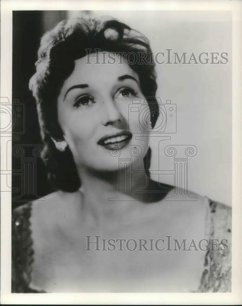 1961 Press Photo Mignon Dunn Operatic Mezzo-Soprano Metropolitan Opera Singer - Historic Images