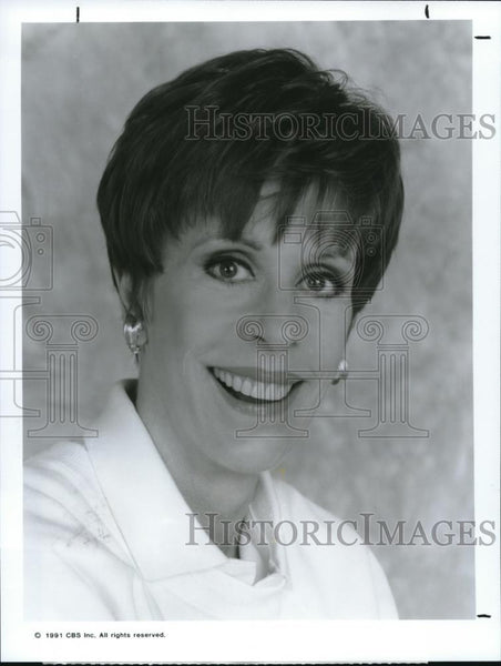 1991 Press Photo Carol Burnett in The Carol Burnett Show - cvp00056 - Historic Images