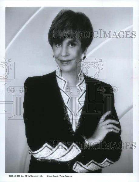 1992 Press Photo Carol Burnett in The Carol Burnett Show: A Reunion - cvp00057 - Historic Images