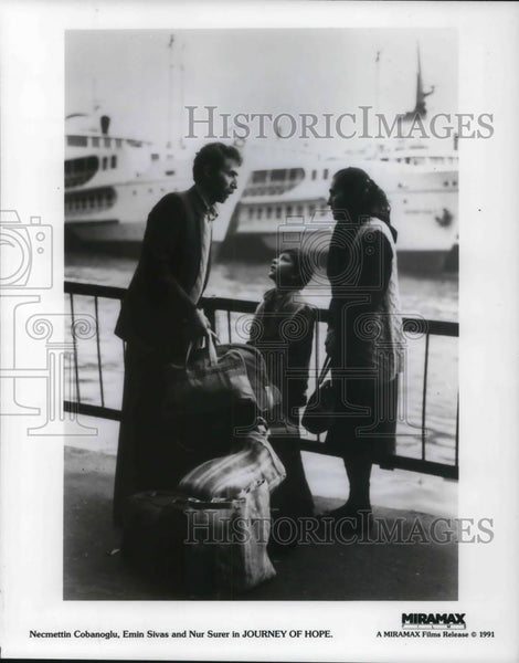 1933 Press Photo Necmettin Cobanoglu Emin Sivas and Nur Surer in Journey of Hope - Historic Images