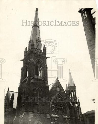 1932 Press Photo Methodist Episcopal Church - Historic Images