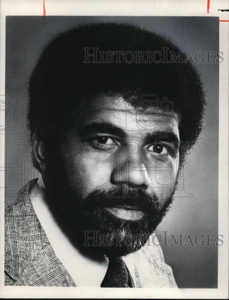 1978 Press Photo Ed Bradley CBS News Correspondent - cvp00022 - Historic Images