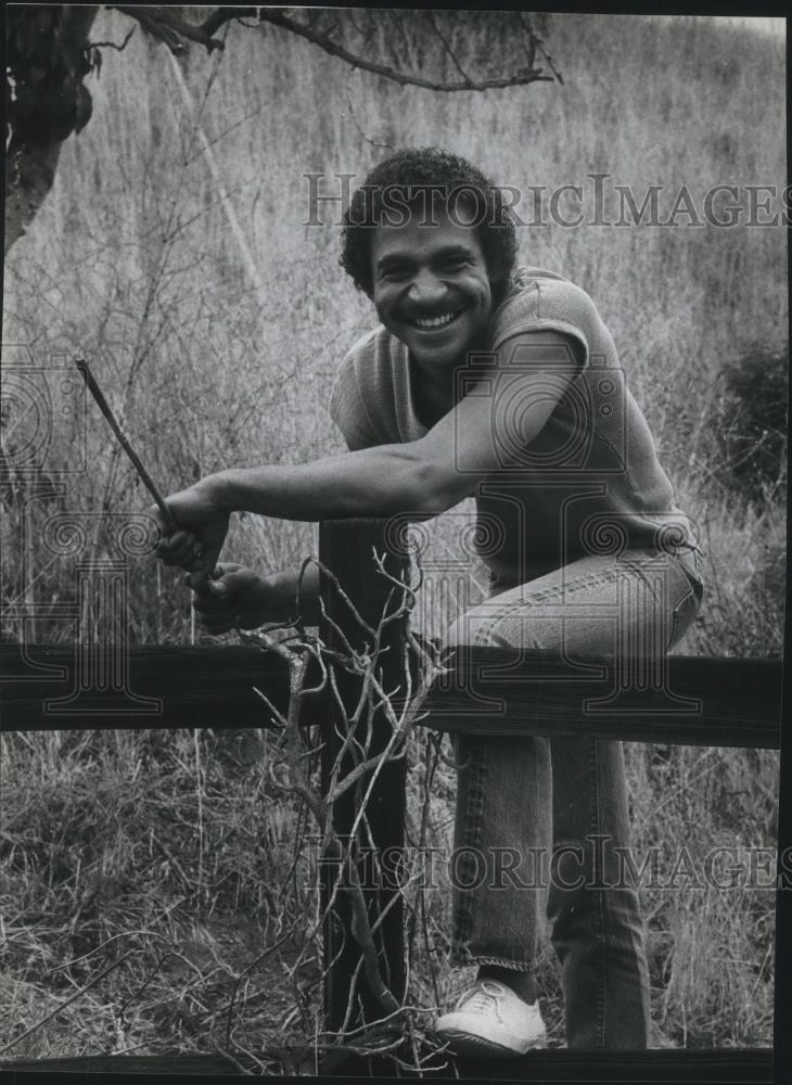 Press Photo Ron Glass Actor star of Barney Miller TV Show - cvp13277 - Historic Images