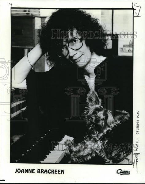 1982 Press Photo Joanne Brackeen Jazz Pianist - cvp00015 - Historic Images