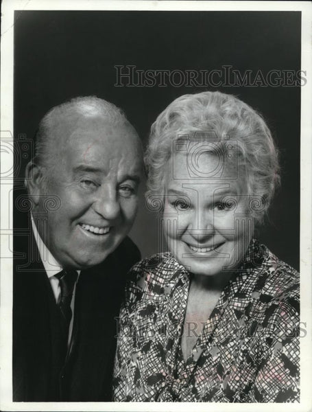 1972 Press Photo Shirley Booth and J. Patrick O'Malley in A Touch of Grace - Historic Images