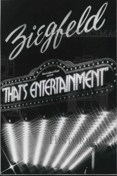 1980 Press Photo Thats Entertainment at Manhattans Ziegfield Theater - cvp11440 - Historic Images