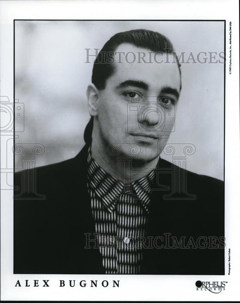 1989 Press Photo Alex Bugnon Jazz Pianist Composer - cvp00048 - Historic Images