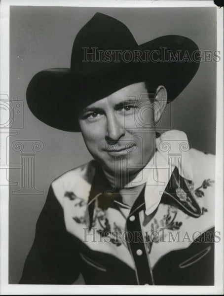 1950 Press Photo Curley Bradley in The Singing Marshall - cvp00023 - Historic Images