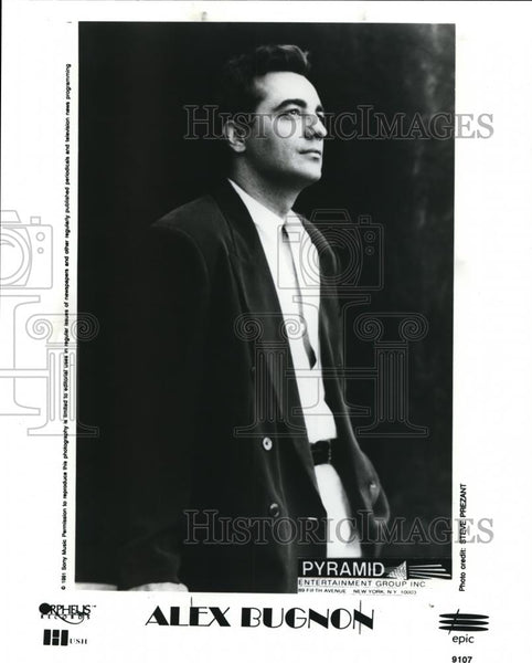 1992 Press Photo Alex Bugnon Jazz Pianist Composer - cvp00046 - Historic Images