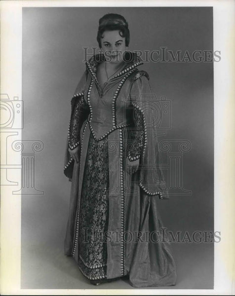 1984 Press Photo Sophie Ginn-Paster Opera Singer Professor at Baldwin Wallace - Historic Images