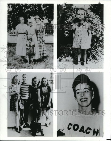 1986 Press Photo Carol Burnett Actress Comedian Family Photographs - cvp00062 - Historic Images