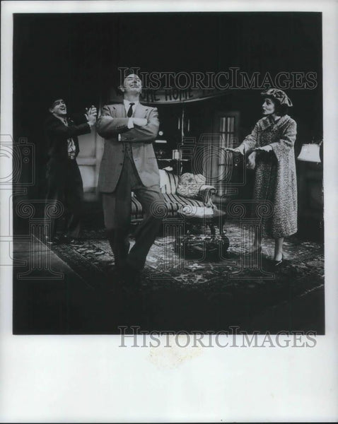 Press Photo Martin Sheen Jack Albertson Irene Dailey in The Subject was Roses - Historic Images