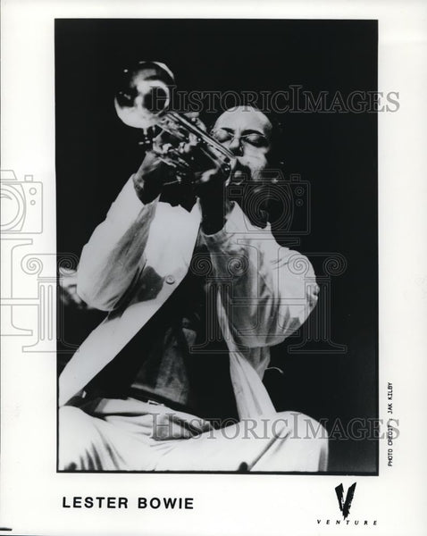 1988 Press Photo Lester Bowie Jazz Trumpeter Composer - cvp00024 - Historic Images