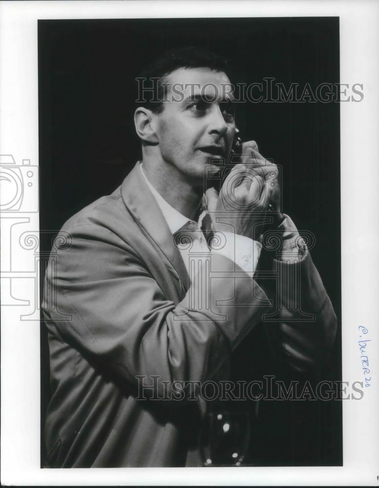 1988 Press Photo David Dukes in Madame Butterfly Broadway Play - cvp03408