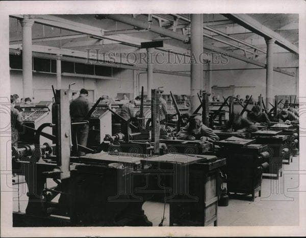 1936 Press Photo City Of Paris France, Manufacturing Technological School - Historic Images
