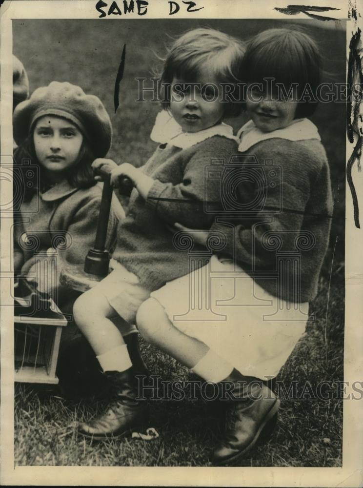 1922 Press Photo Gwendolyn Armour, third. Daughter Philip D. Armour died at home - Historic Images