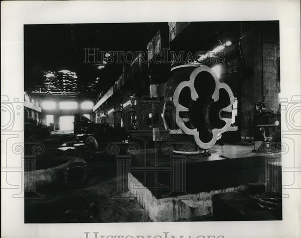 1954 Press Photo Chosun Steel Electrical Plant In Korea - Historic Images