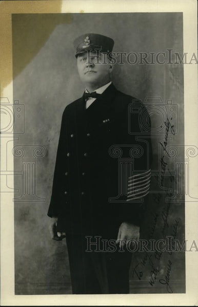 1920 Press Photo James O'Brien San Diego Vice Commander American Legion - Historic Images