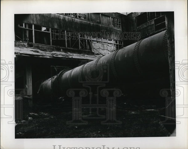 Press Photo Chosun Electrical Steel Plant, Korea - Historic Images