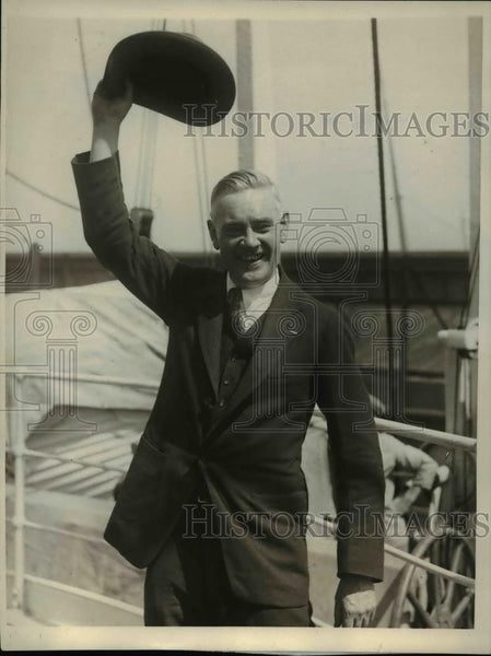 1923 Press Photo John T. McGovern, member of the Olympic Committee - Historic Images
