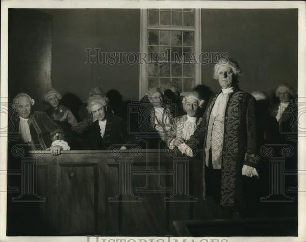 1929 Press Photo George Washington as depicted by Attorney General John R - Historic Images