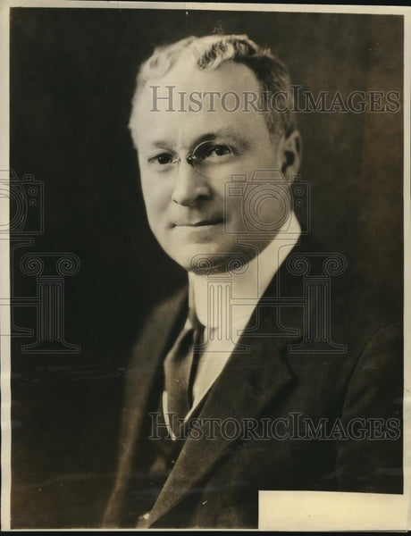 1923 Press Photo H.C. Snook, Staff Engineer, Western Electric Company - Historic Images
