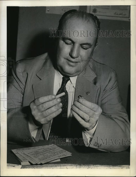 1941 Press Photo Chairman James A. gallagher of the local board - Historic Images