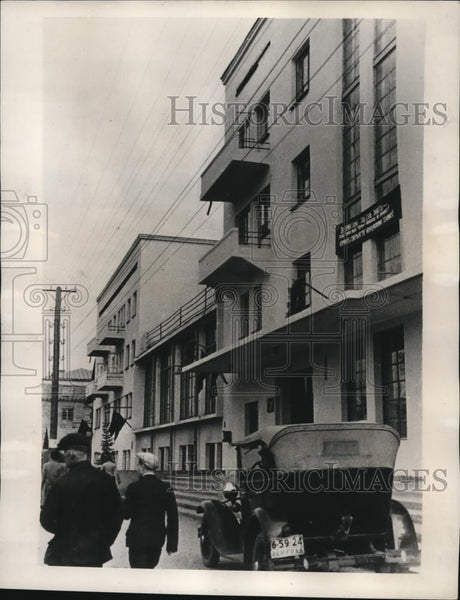 1939 Press Photo Arctic Hotel in Murmansk principal port of Kola Peninsula - Historic Images