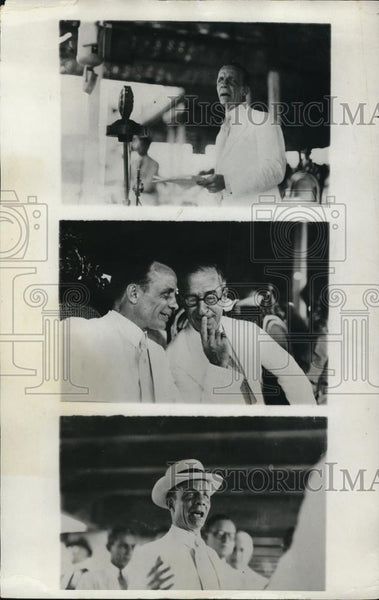 1922 Press Photo Final Inauguration of Theodore Roosevelt in Phililipine Islands - Historic Images