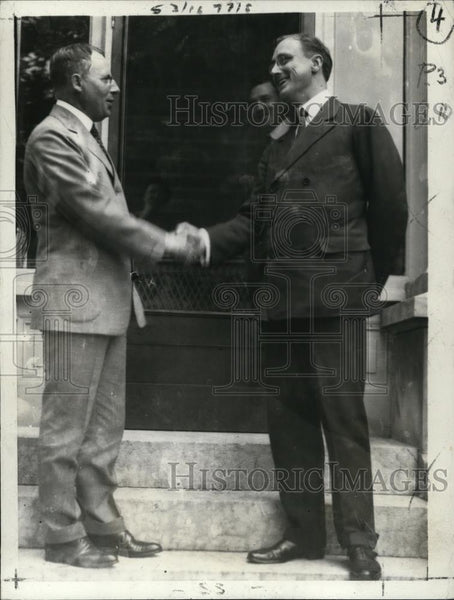 1932 Press Photo Jimmy Cox & Franklin Roosevelt - Historic Images