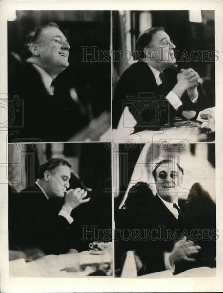 1932 Press Photo Governor Franklin D Roosevelt - Historic Images