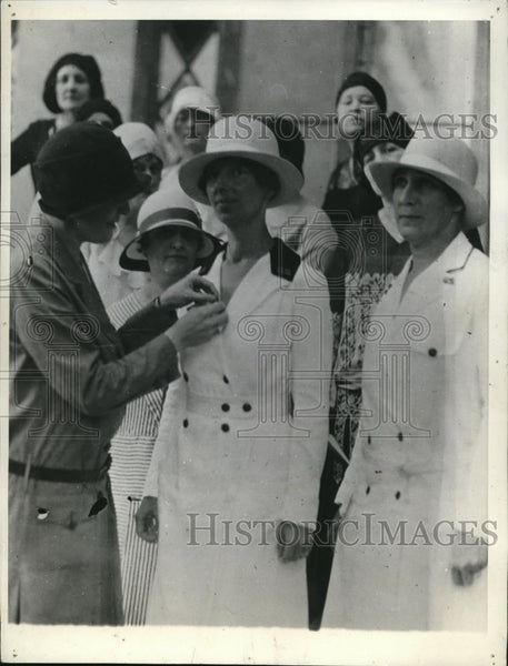 1930 Press Photo Mrs. Theodore Roosevelt Alice Conway Mrs. John A. Hartner - Historic Images