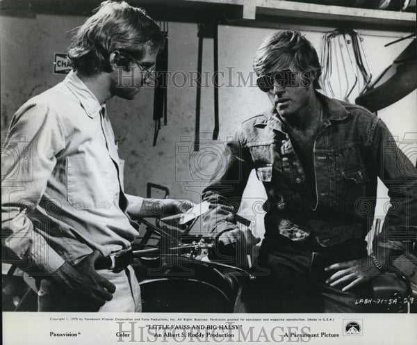 1971 Press Photo Robert Redford stars in Little Fauss and Big Halsy - Historic Images