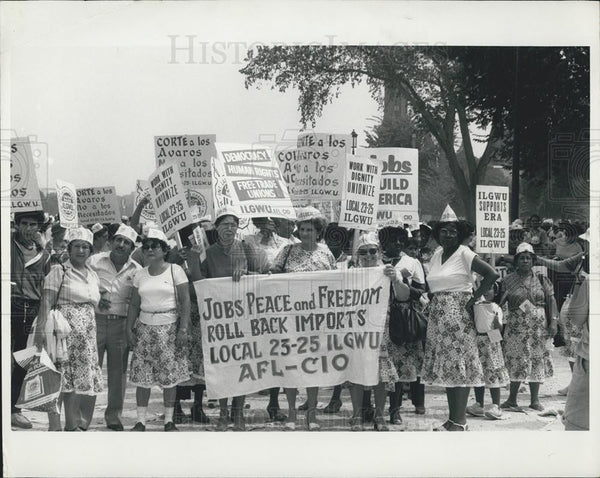 Press Photo March on Washington - Historic Images