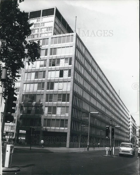 Press Photo New Scotland Yard Police Station, London England - Historic Images